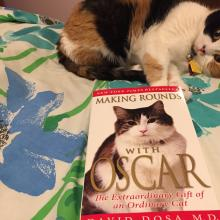 """Read this book!!  """"MAKING ROUNDS WITH OSCAR"""""""